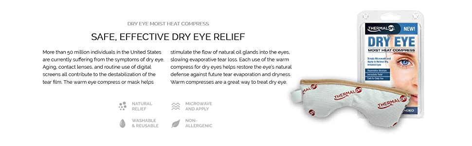 Amazon Com Thermalon Dry Eye Compress Health Amp Personal Care