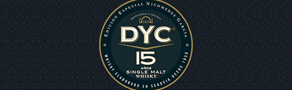 DYC 15 Años Edición Especial 60 Aniversario Single Malt Whisky, 40% - 700 ml: Amazon.es: Alimentación y bebidas