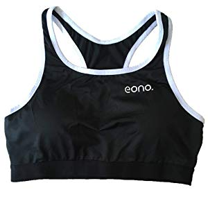 Eono Essentials - Sujetador deportivo femenino con espalda racer ...
