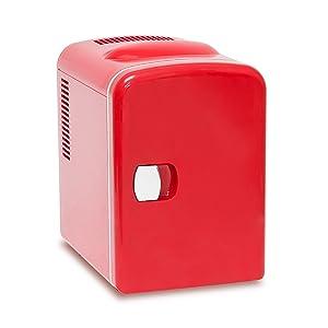 Relaxdays Mini Kühlschrank für Auto, Hotel, Warmhaltebox 4