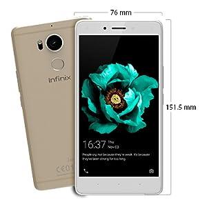 Infinix Zero 4 X555 Dual Sim - 32GB, 3GB RAM, 4G LTE, Gold: Amazon com