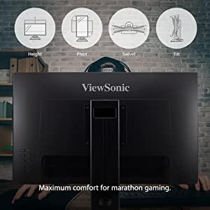 ViewSonic XG2405 24 Inch 1080p 1ms 144Hz Frameless IPS Gaming Monitor