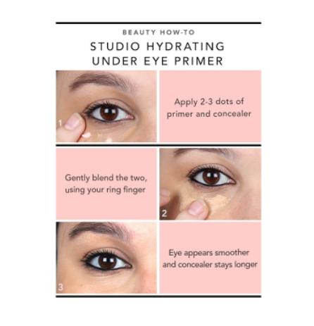Amazoncom Elf Cosmetics Hydrating Under Eye Primer Prepares