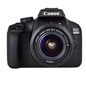 Canon EOS 4000d 18 – 55 See cámara, Negro: Amazon.es: Electrónica