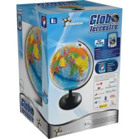 Science4you Globo terrestre y atlas mundial - Juguete