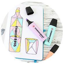 STABILO, STABILO BOSS, STABILO BOSS ORIGINAL, Highlighter, Pen, Pencil case, marker