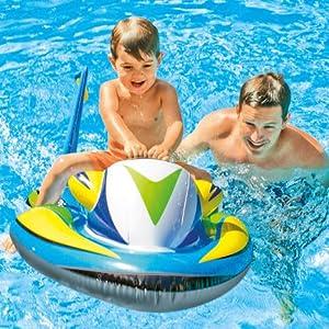 Intex 57520NP - Moto acuática hinchable para niños 117 x 77 cm ...