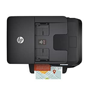 HP Officejet Pro 8715 – Impresora multifunción (Tinta Color, WiFi, fax, copiar, escanear, impresión a Doble Cara, 1200 x 1200 PPP, A4, Incluido 3 ...