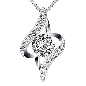 Swarovski Elements 925 Sterling Silver Necklace JR681 JR396
