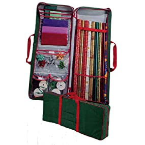 Ensure Your Gift Wrapping Supplies Stay In Good Order By Stowing Them In A  Master Craft Gift Wrap Storage Bag. This Handy, Zippered Bag Makes It Easy  To ...
