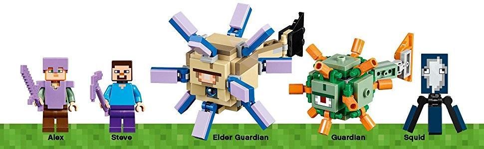 LEGO Minecraft - Monumento oceánico (21136): Amazon.es
