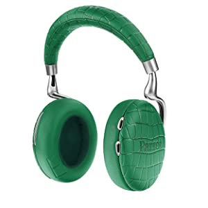 Parrot Pf562104 Zik 3 Headphone With Wireless Charger, Green