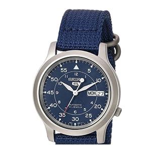 79f3e7862f61 Seiko SNK807 - Reloj analógico automático Seiko 5