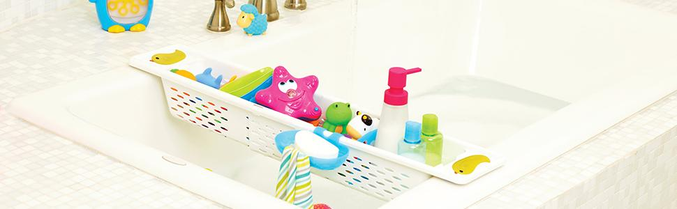 bath toy holder; bath toy organizer