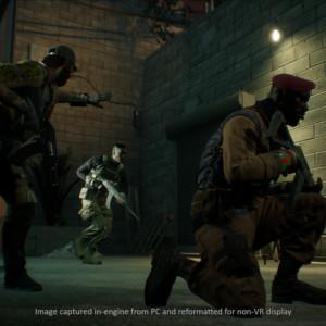 最新装備と綿密なチームワークで戦う