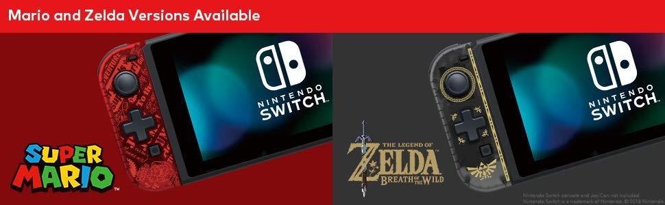 Mario and Zelda Versions Available
