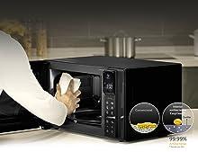 LG MH7265DPS Microondas Grill Smart Inverter, 1200W, 32 L, Display ...