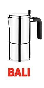 BRA Bella - Cafetera, capacidad 6 tazas, acero inoxidable 18/10 ...