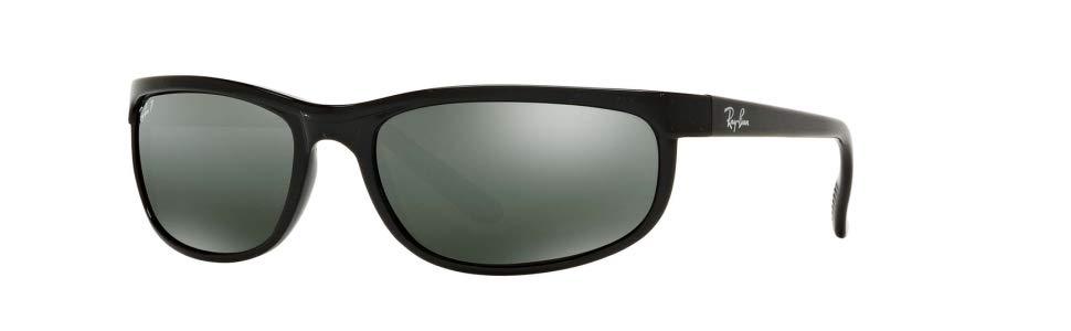 e6c13a494f Ray-Ban RB 2027 Gafas de Sol, Matte Black, 62 para Hombre: Amazon.es ...