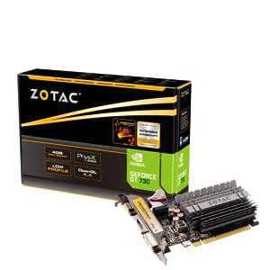 ZOTAC GEFORCE GT 730 4GB DDR3 ZONE EDITION