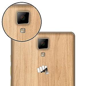 Micromax Canvas 5 Lite Q463 (Maple Wood, 16GB)