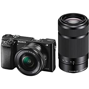 Amazon.com : Sony Mirrorless Digital Camera Bundle with 3
