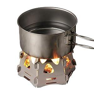 ソト(SOTO)ミニ焚き火台ヘキサ ST-942 テーブル上でも使用可能