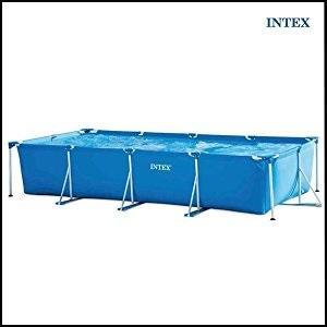 Intex 28272 piscina frame rettangolare 300 x 200 x 75 cm for Piscine intex amazon