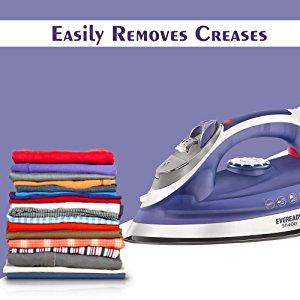 Eveready SI1400 1400-Watt Steam Iron easy remove