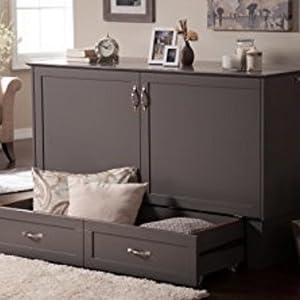 Amazon Com Atlantic Furniture Ac5940001 Nantucket Murphy