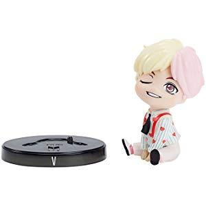 Amazon Com Bts 3 In V Vinyl Doll And Base Based On Bangtan Boys