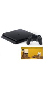 PlayStation 4 ジェット・ブラック 500GB 【特典】オリジナルカスタムテーマ 配信