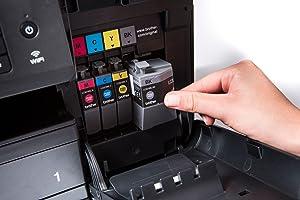 Brother MFCJ6930DWG1 - Impresora color multifunción, negro: Amazon ...