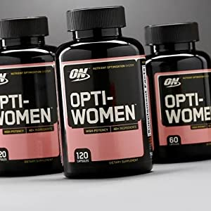OPTIMUM NUTRITION Opti-Women, Womens Daily Multivitamin Supplement with Iron