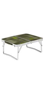 【Amazon.co.jp 限定】テーブル ナチュラルモザイクミニテーブルプラス オリーブ