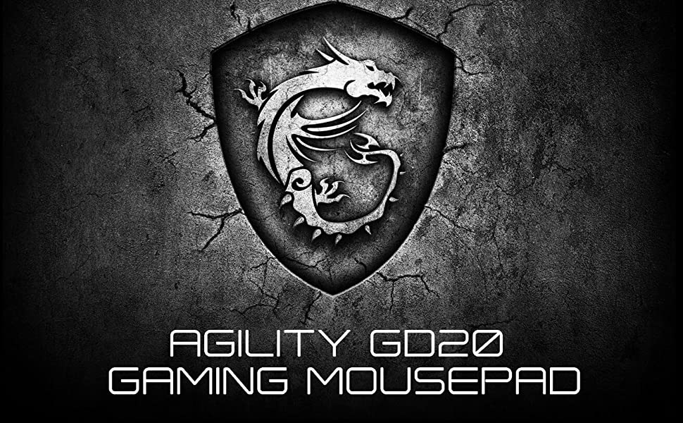 MSI Agility GD20 - Tappetino per mouse
