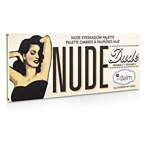 theBalm Nude Dude Eyeshadow - Palette, 0.336 oz.
