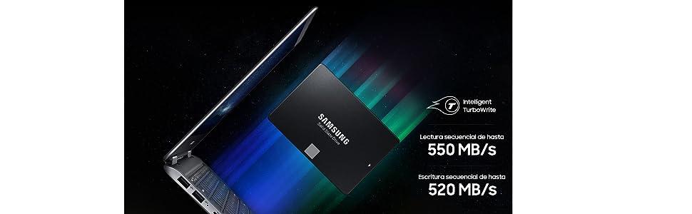 Samsung EVO m-SATA - Disco Estado Solido SSD (250 GB, 550 ...