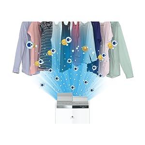 花粉モードで洗いにくい衣類も1年中快適