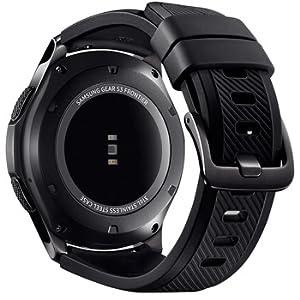 b58781326 Samsung Gear S3 Frontier Smart Watch - Space Grey, SM-R760: Amazon.ae