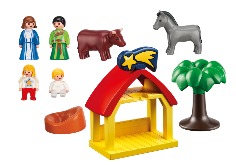 Playmobil 1 2 3 bel n 6786 juguetes y juegos for Amazon figuras belen