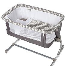 Jane - Minicuna de colecho jané babyside gris