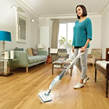 Black & Decker 1300 Watt EPP Steam Mop - FSM1605-B5