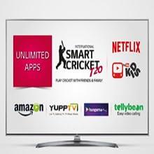 LG 124 5 cm (49 Inches) 4K UHD LED Smart TV 49UJ632T (Black) (2017 model)