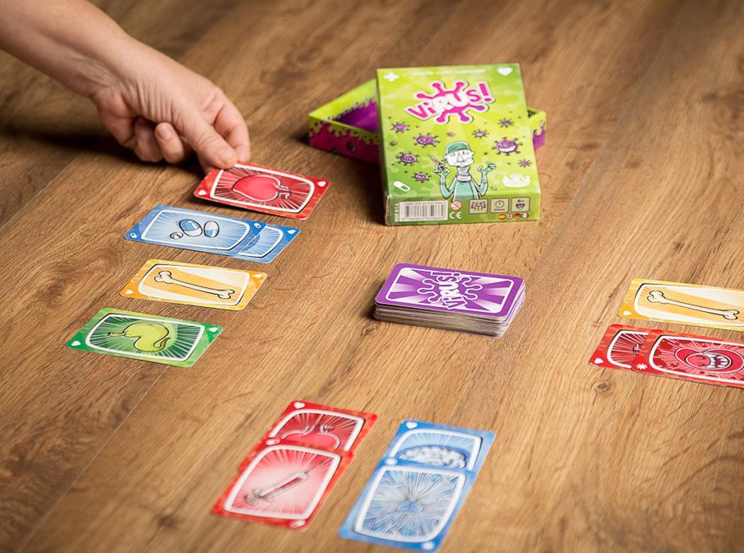 Tranjis games virus juego de cartas juguetes y juegos - Juego mesa virus ...