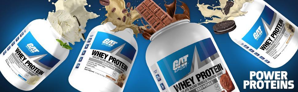 GAT Whey Protein - GAT - Sport Supps Brands - Protein & Aminos