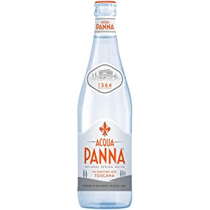 Roll over image to zoom in Acqua Panna Mineral Water, Glass Bottle