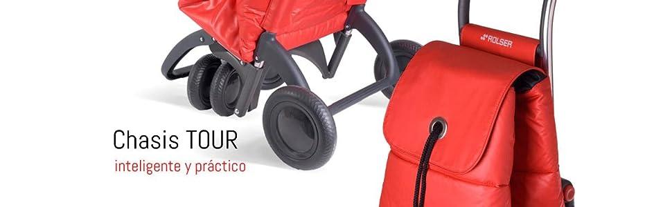 Rolser Carro I-MAX MF 4 Ruedas 2 Giratorias Plegable - Bassi ...