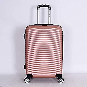 Capital Luggage Trolley Bags Set Of 6 Pcs, Pink, 1605116, Unisex