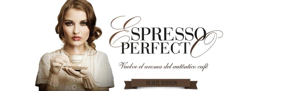 Mini Moka CM-1821 999.319 Cafetera Espreso 15 Bar / 850 W / 1,6 L, 6.7628 cups, 0 Decibeles, Acero inoxidable